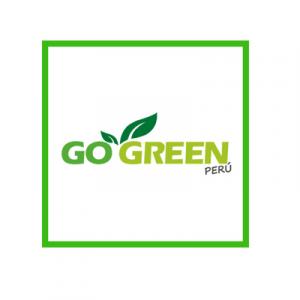 Logo de Go Green Perú