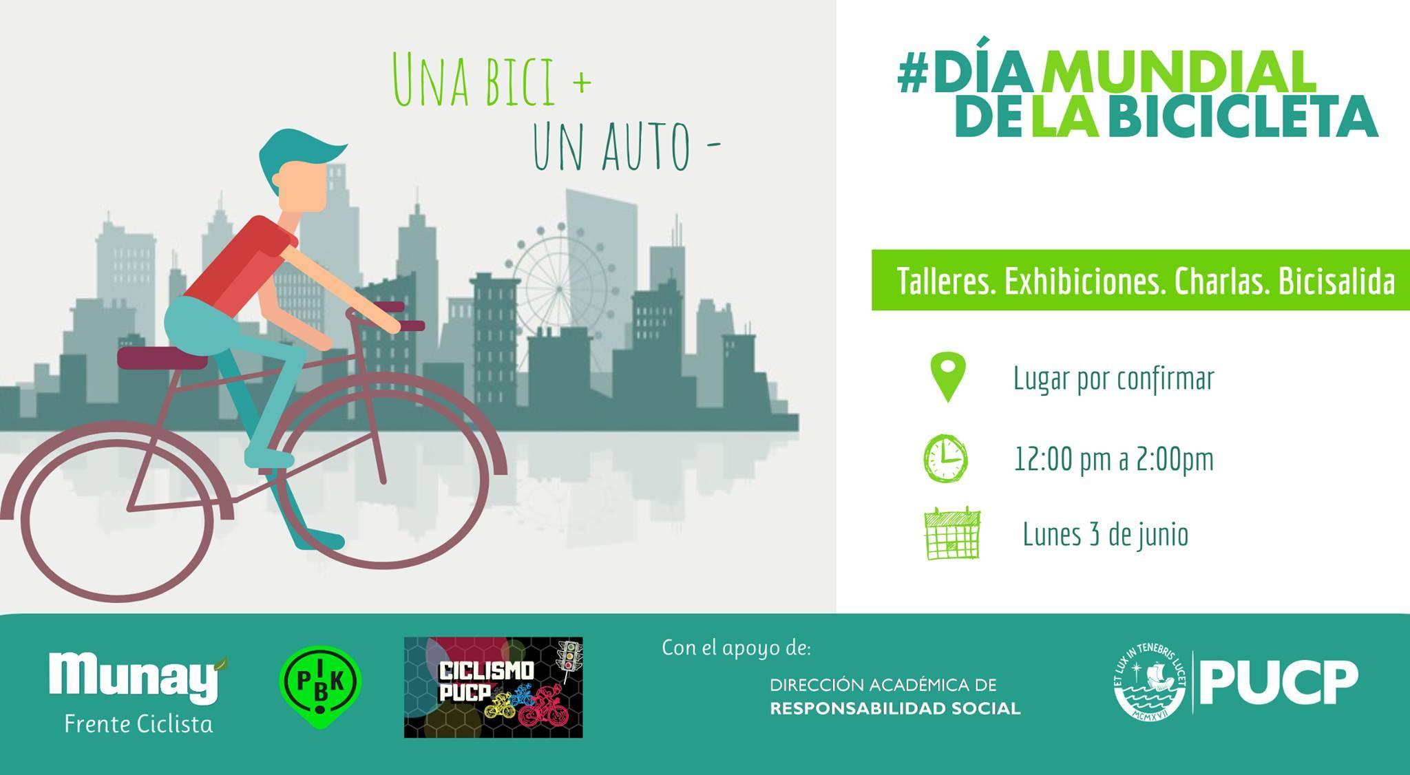 Día Mundial de la Bicicleta en la PUCP - Economía Verde : Economía Verde